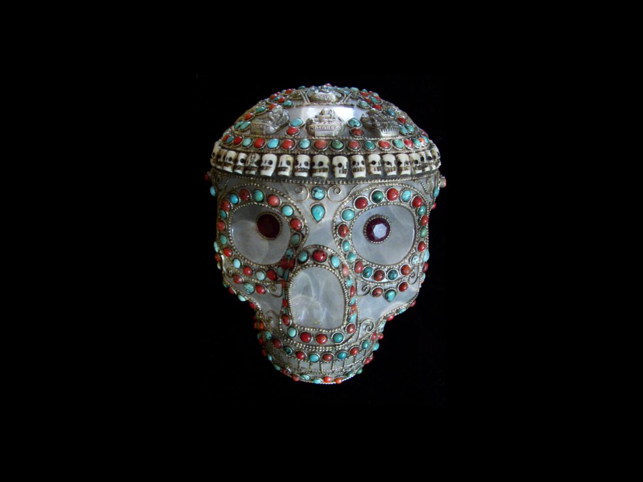'Omani' Crystal Skull.