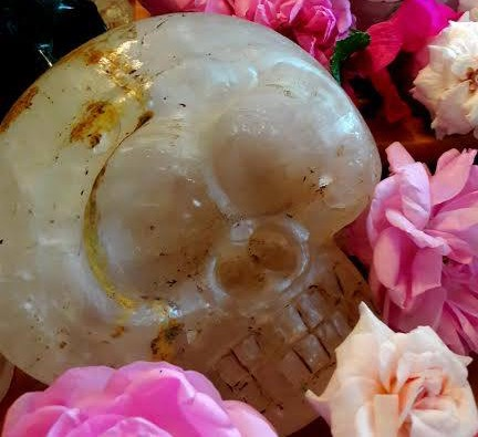 'Winema' ~ Tibetan Crystal Skull.