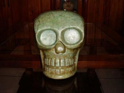 'Ixchel' Crystal Skull.