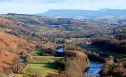 Builth Wells self catering Wales fis