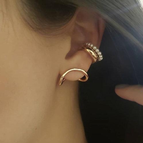 Ear Cuff Perolinhas