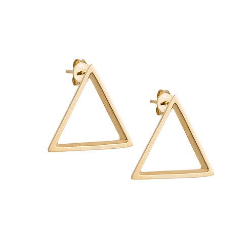 Brinco Triângulo Vazado | AT