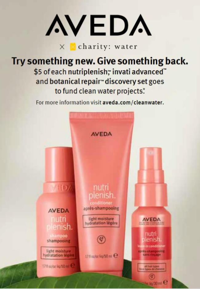 Aveda's Nutriplenish Discovery Kit