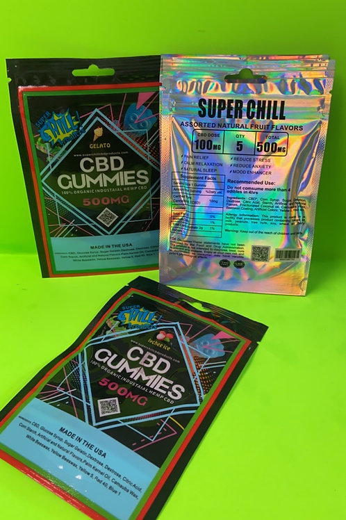 Chill Gummie 500MG (2 Pack)