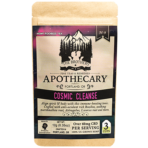 Cosmic Cleanse | Hemp CBD Tea