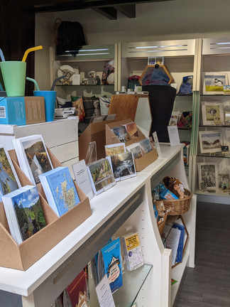 Shop at the Visitor Centre
