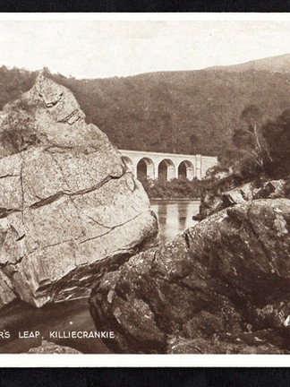 Soldier's leap and Viaduct in Killiecrankie