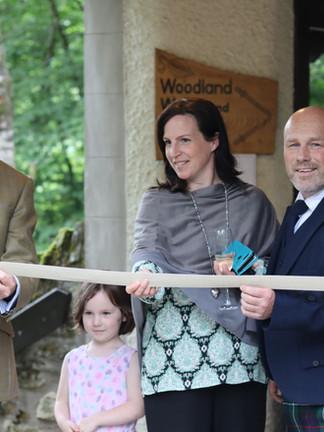 The new centre was opened by Deputy First Minister John Swinney MSP