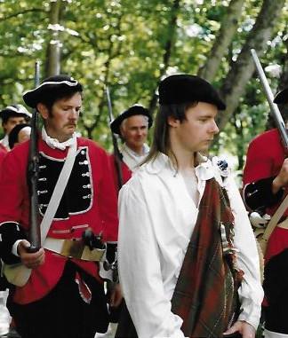 Battle of Killiecrankie Re-enactment!