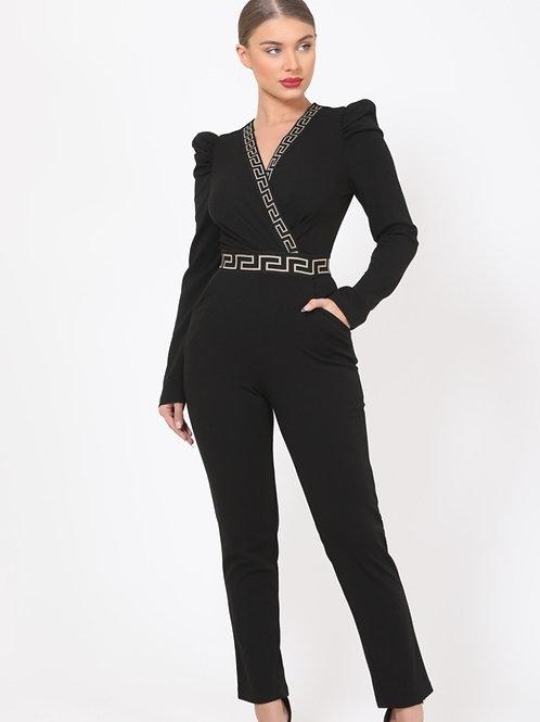 Fancy Black Jumpsuit