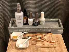 Botanical products used at Terra Nova Spa. Used for facials, manicures, pedicures, body treatments and facial waxing
