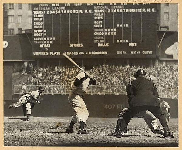 Feller vs. Yankees 1946 LoC.jpg