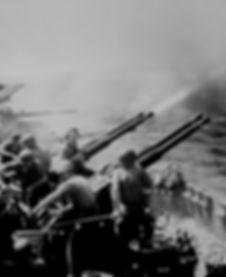 40 mm gun mount USS Hornet_National Arch