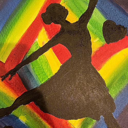 LOVE TO DANCE PAINTING Sold Email for Replica