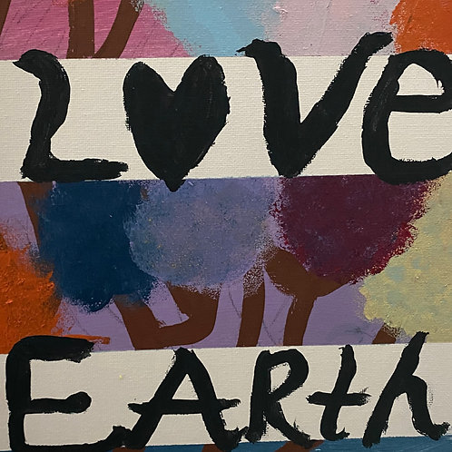 LOVE EARTH CUSTOM PAINTING email for replica