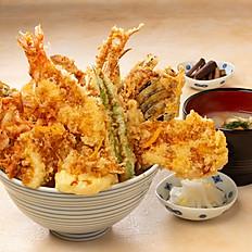 All Star 丼 All Star Tempura Don