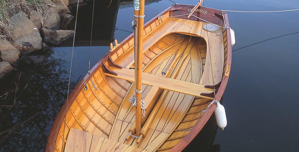 Skärgårdsbåte' / Saaristovene / Archipelago sailer 17´
