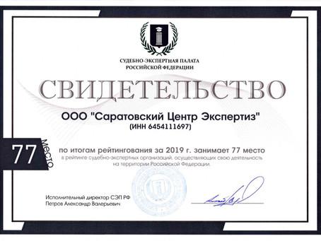 Итоги всероссийского рейтингования.
