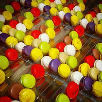 Pâtisserie Plaisir Gourmand, Castelnau d'Estrétefonds, Caroline & Fabrice RIDET, Macarons, couleurs, assortiment