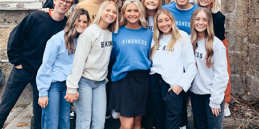 Kindness Activity and KINDNESS SWEATSHIRTS for sale at PG HIGH SCHOOL