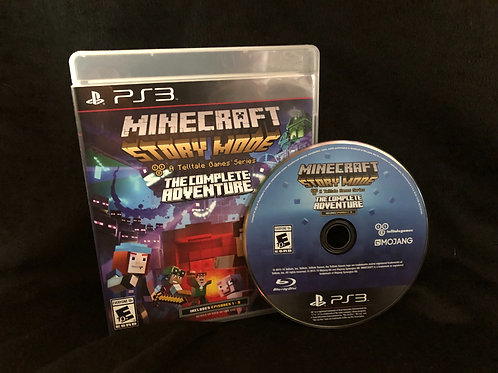 PS4 Minecraft Story Mode Game