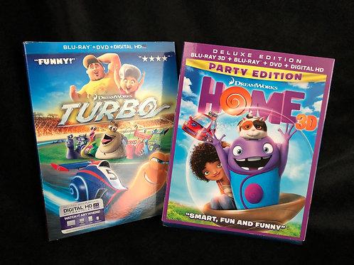 Kids Movie Combo Turbo/Home