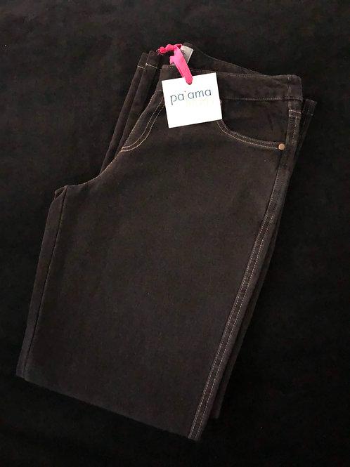 Black Pajama Jeans- Bootcut