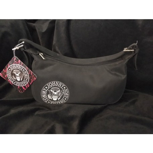 Johnny Ramone Black Shoulder Bag