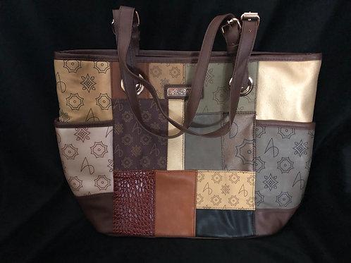 Alfred Durante 'South Hampton' Patchwork Tote Bag