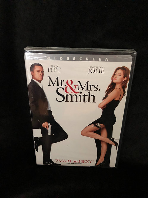 Mr. & Mrs. Smith DVD