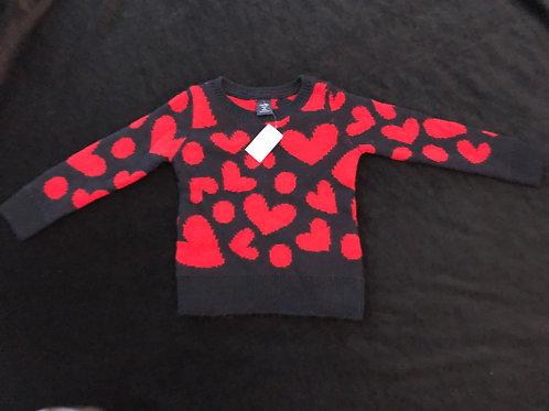 Baby Gap Girls Heart Sweater