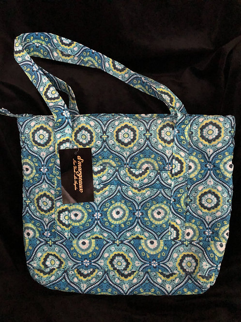 D' Margeaux Blue Tote Bag