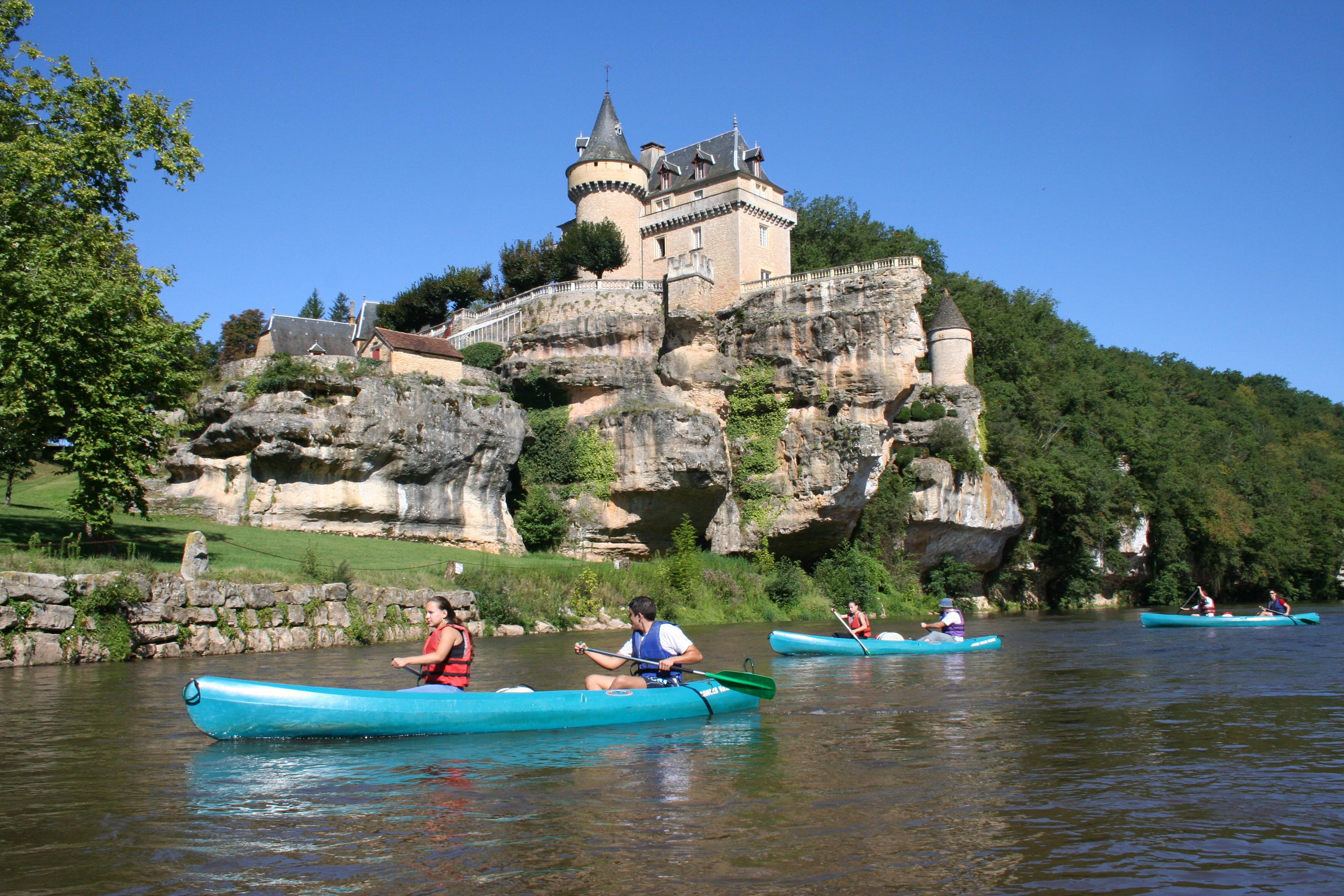 Canoé sur la Dordogne et la Vézère