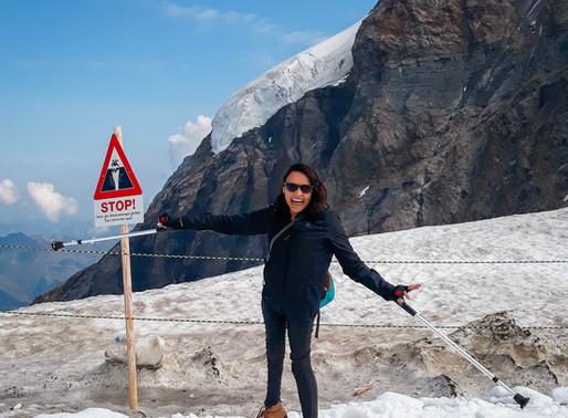 Interlaken e Jungfrau, aos pés dos Alpes Suíços