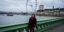 Muleta quebrada em Londres
