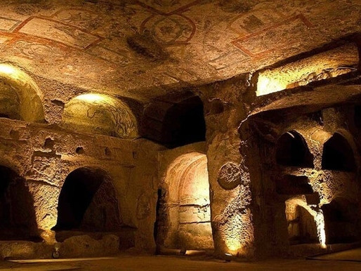 As catacumbas de Roma