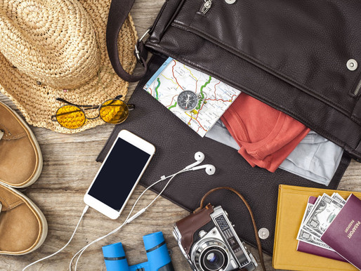 Confira 07 Acessórios indispensáveis para sua viagem