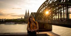 A encantadora cidade de Colônia, na Alemanha