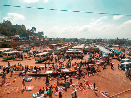 Perdi o ônibus na Etiópia