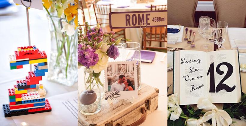 Matrimonio Tema Fotografia : Segnatavolo per il matrimonio idee e ispirazioni video