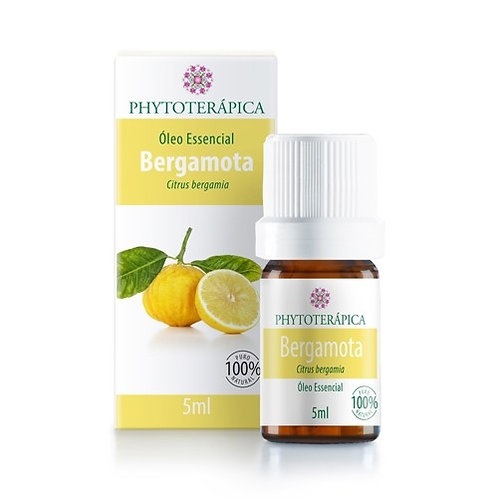 ÓLEO ESSENCIAL DE BERGAMOTA - 5ML Citrus bergamia