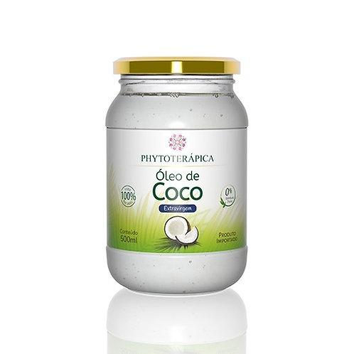 ÓLEO DE COCO EXTRAVIRGEM ORGÂNICO - 500ML Cocos nucifera