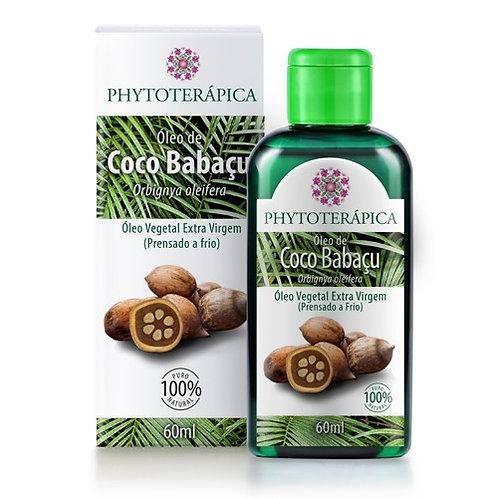 ÓLEO VEGETAL DE COCO BABAÇU - 60ML Orbignya oleifera