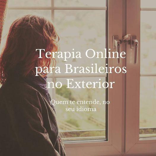 Terapia Online Brasileiros no Exterior