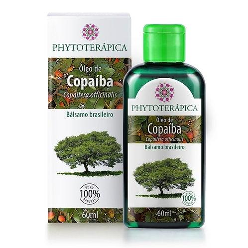 BÁLSAMO DE COPAÍBA - 60ML Copaifera officinalis