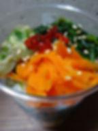 チキナー・なーべーらー・人参、3種類のナムルを合わせました
