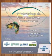 Workshop sobre Pesca esportiva na Agrotins