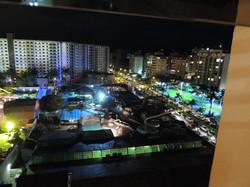 Vista da cidade Caldas Novas.