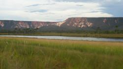Lago no meio do Deserto