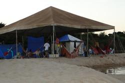Acampamento de Família no Araguaia